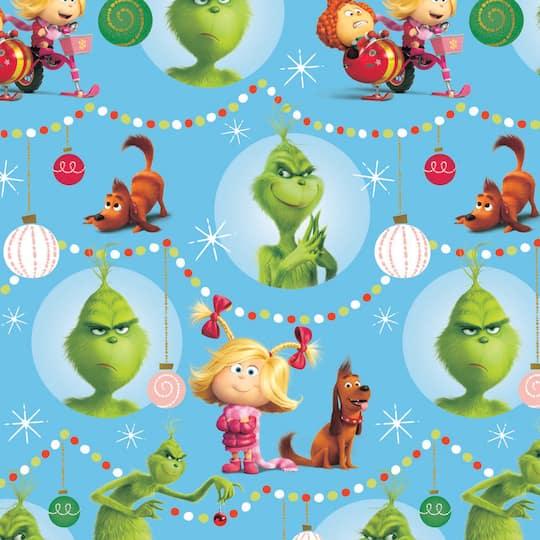 Grinch Gift Wrap