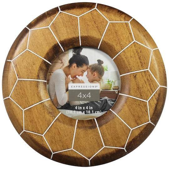 Walnut Moroccan Round 4 X Frame
