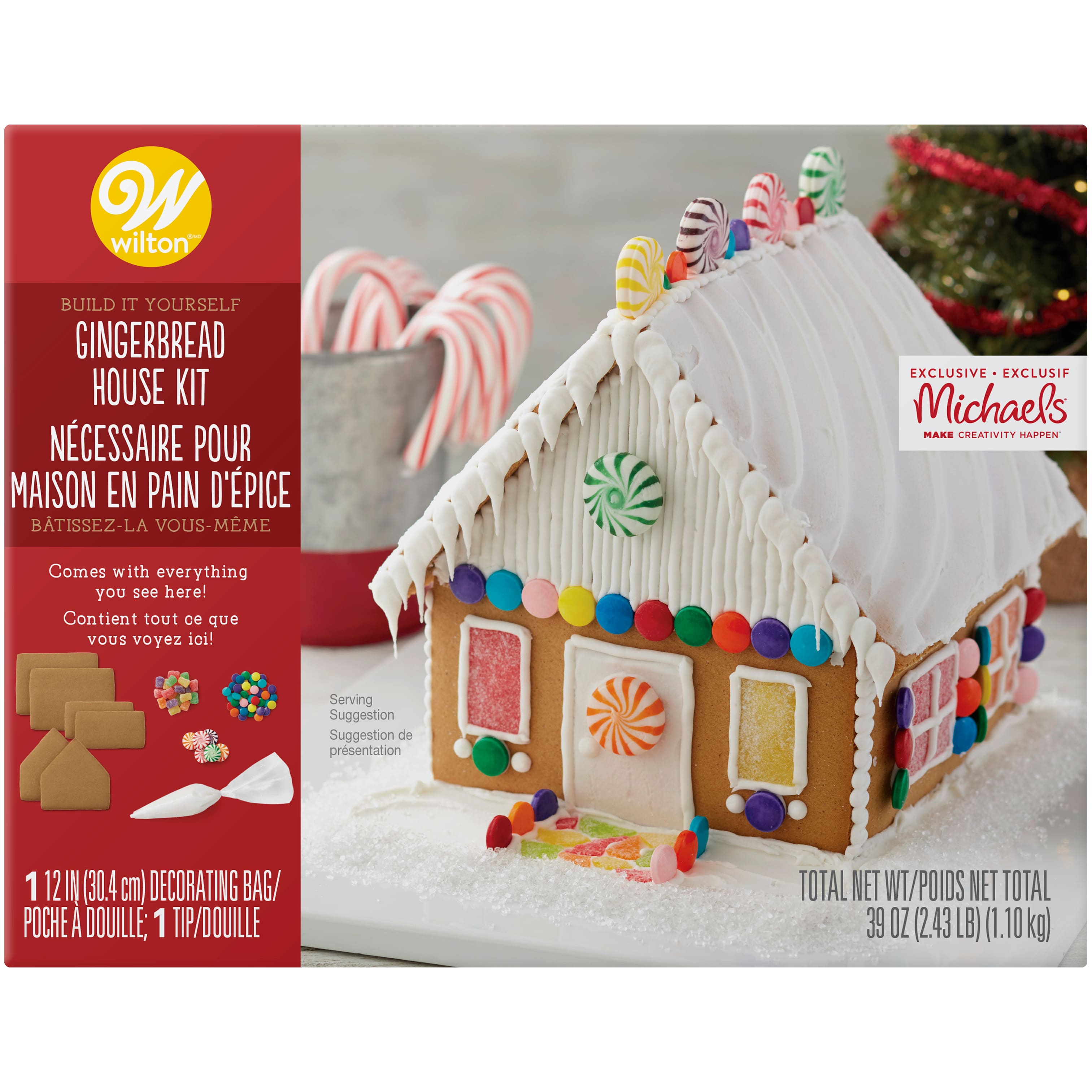 Wilton® Build It Yourself Gingerbread House Kit