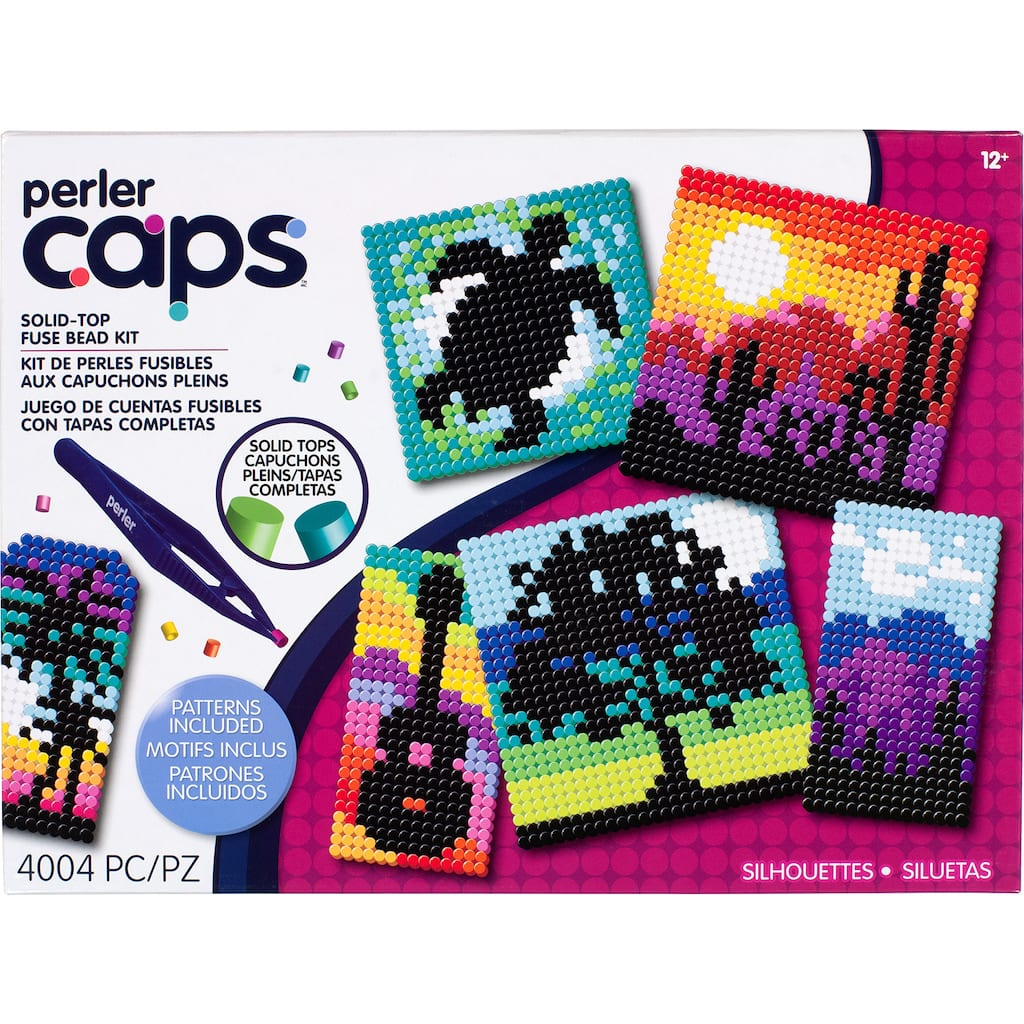 Perler™ Caps Silhouettes Deluxe Box Kit | MichaelsMichaels