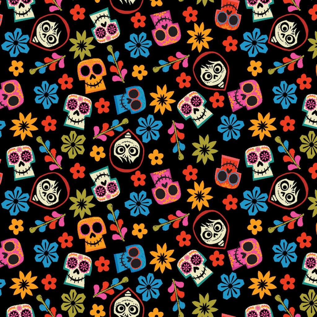 find the disney u00ae pixar u2122 coco  u0026 skulls toss cotton fabric at michaels