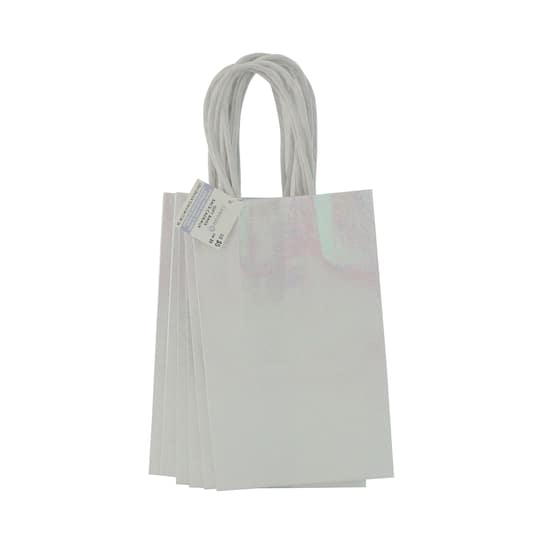 Find The White Small Gift Bags By Celebrate It 6 Pack At Michaels