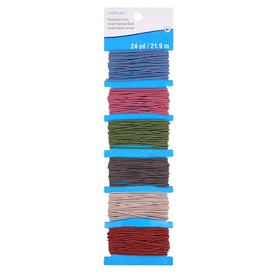 Colorful Elastic Cord Pack By Creatology Michaels