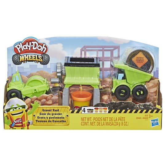 Play-doh® Wheels Gravel Yard Set | Michaels®