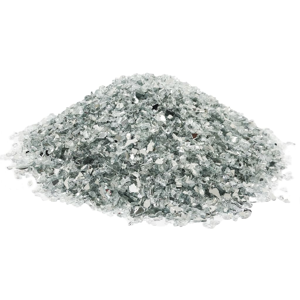 White Crushed Glass Decorative Filler by Ashland®