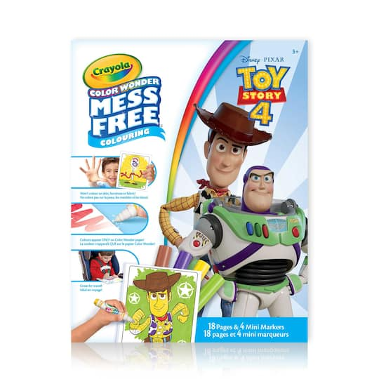 Crayola® Color Wonder Mess Free Toy Story 4 Colouring ...