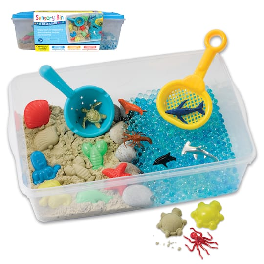 Creativity for Kids® Ocean & Sand Sensory Bin | Michaels