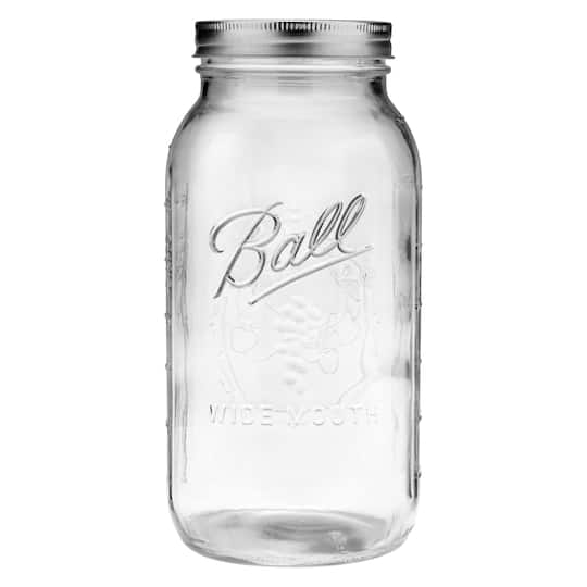 Ball 64oz Wide Mouth Glass Jars 6ct Michaels