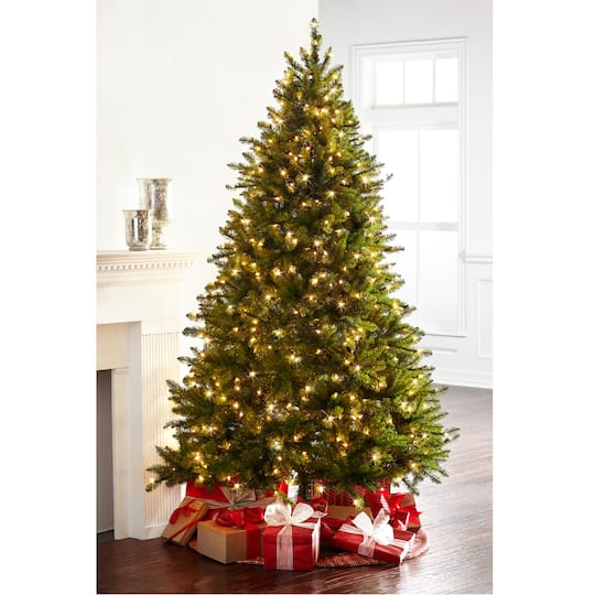 online store 6e797 a1f3f 7.5ft. Pre-Lit Hartford Pine Artificial Christmas Tree, Clear Lights by  Ashland®