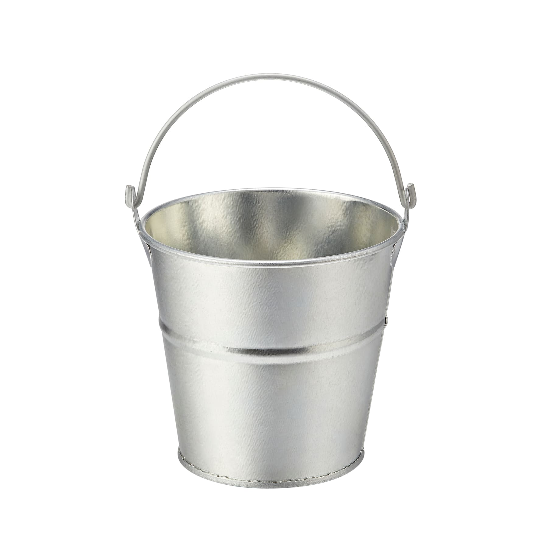 Galvanised Tin with handle Love Mini Black Beer Bucket