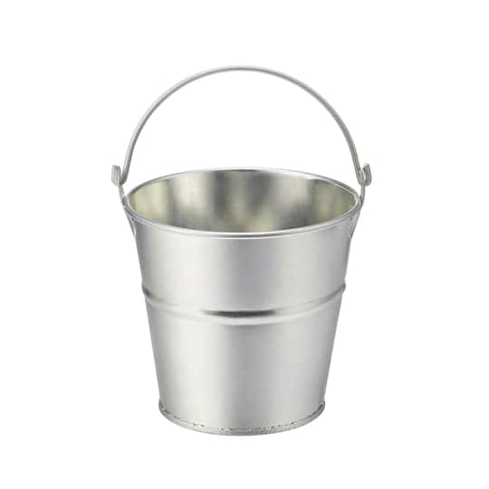 Galvanized Metal Bucket With Handle By Ashland