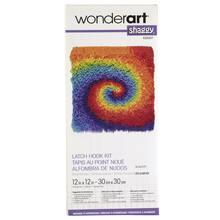 Wonderart Gy Latch Hook Kit Tie Dye