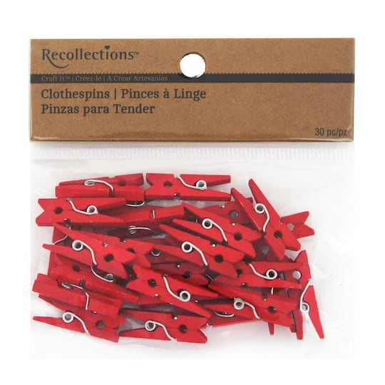 Recollections™ Craft It™ Mini Clothespins