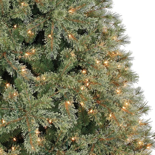 Christmas Tree.7 5ft Pre Lit Quick Set Jasper Artificial Christmas Tree Clear Lights By Ashland