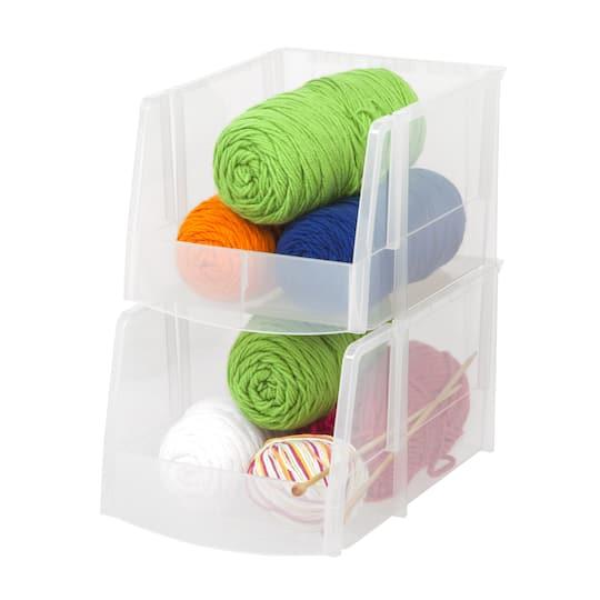 Buy the Iris® Jumbo Storage Bin, 6 Pack at Michaels