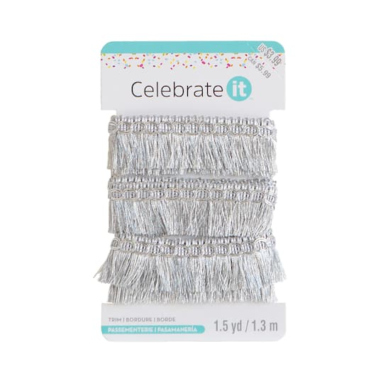 Shop For The 1 Fringe Trim By Celebrate It At Michaels