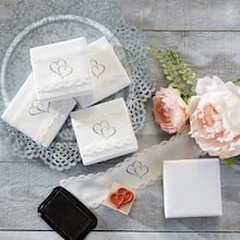 Stamped Wedding Favor