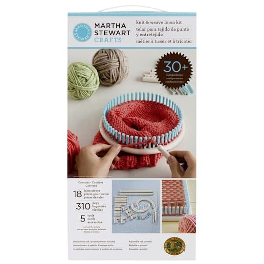 Martha Stewart Crafts Knit Weave Loom Kit