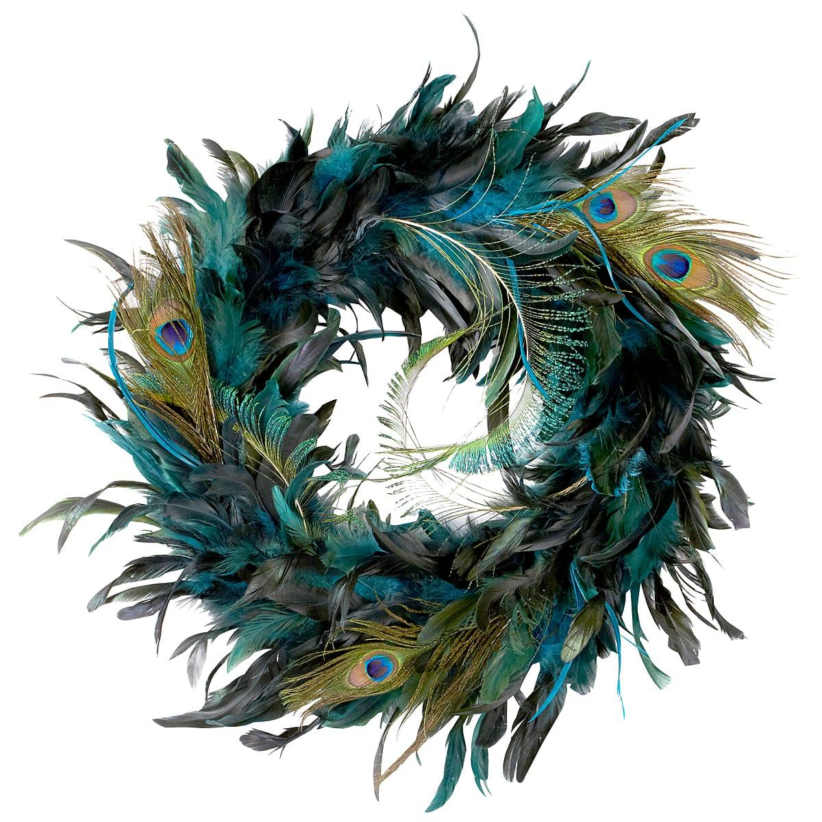 peacock feather wreath by ashland rh michaels com peacock feather images peacock feather meaning