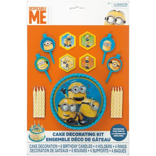 Despicable Me Minions Cake Decorating Kit 17pc Img