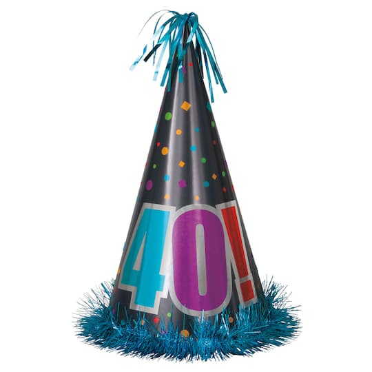 Jumbo Birthday Cheer 40th Party Hat
