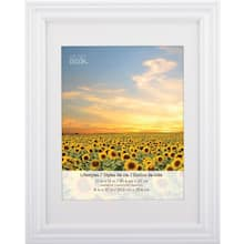 3 White Frames With Mat 8 X 10 Lifestyles By Studio Décor