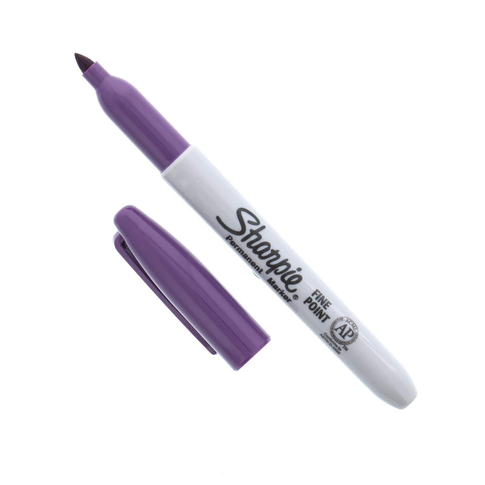 Sharpie Ultra Fine Point Permanent Marker Open Stock-Lilac