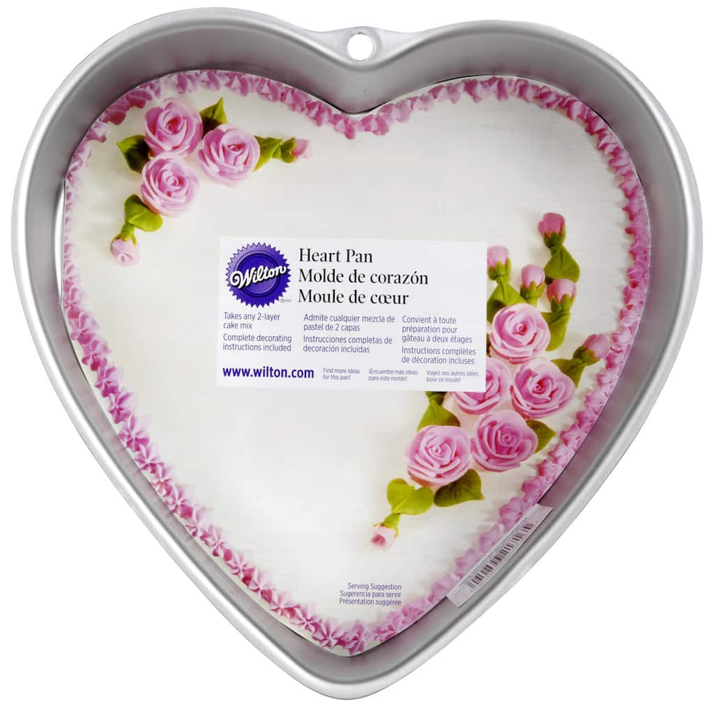 Purchase The Wilton 174 Decorator Preferred Heart Pan At Michaels