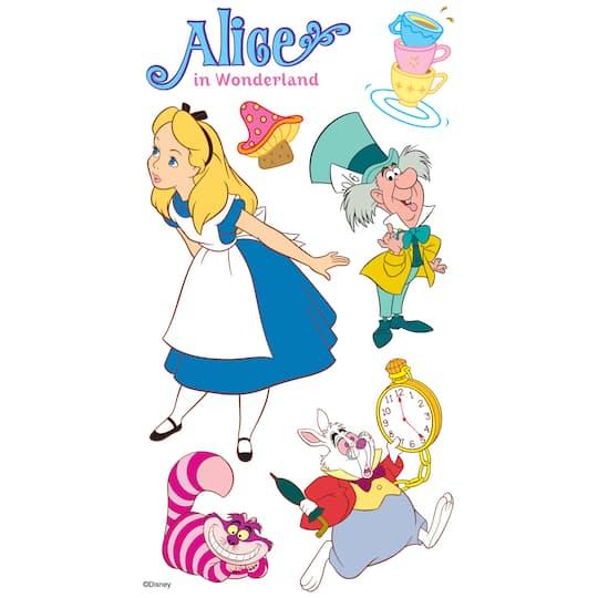Alice In Wonderland Disney Characters: Ek Success® ©Disney Stickers, Alice In Wonderland