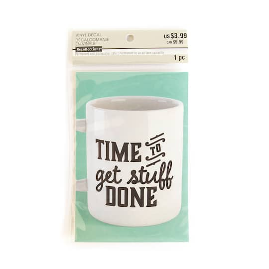 shop for the time to get stuff done vinyl decal sticker