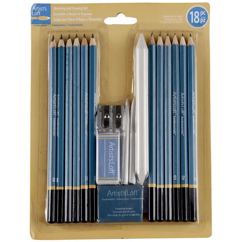 Artist S Loft Fundamentals Sketching Amp Drawing Set