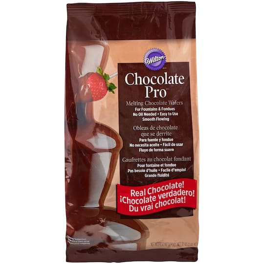 Shop For The Wilton Chocolate Pro Melting Chocolate Wafers At Michaels