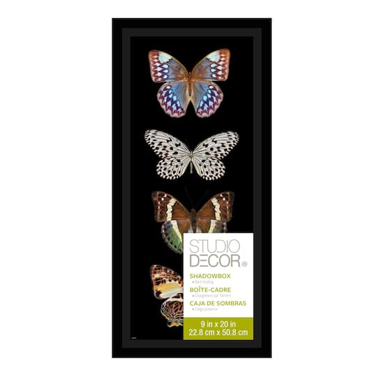 Shop For The Black Panel Shadow Box 9 Quot X 20 Quot By Studio