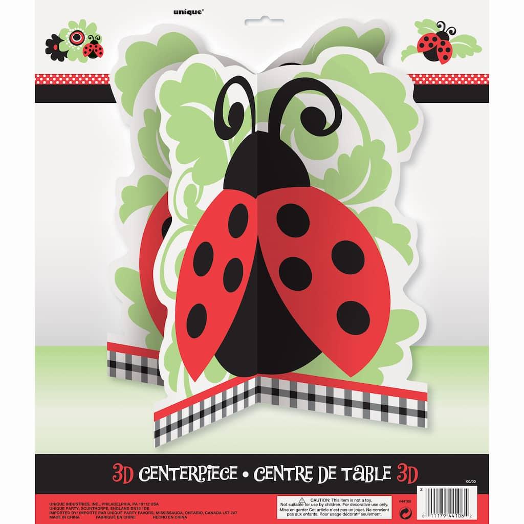 Ladybug Centerpiece Decoration Img