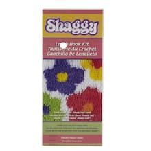 Wonderart Shaggy Latch Hook Kit Flowers