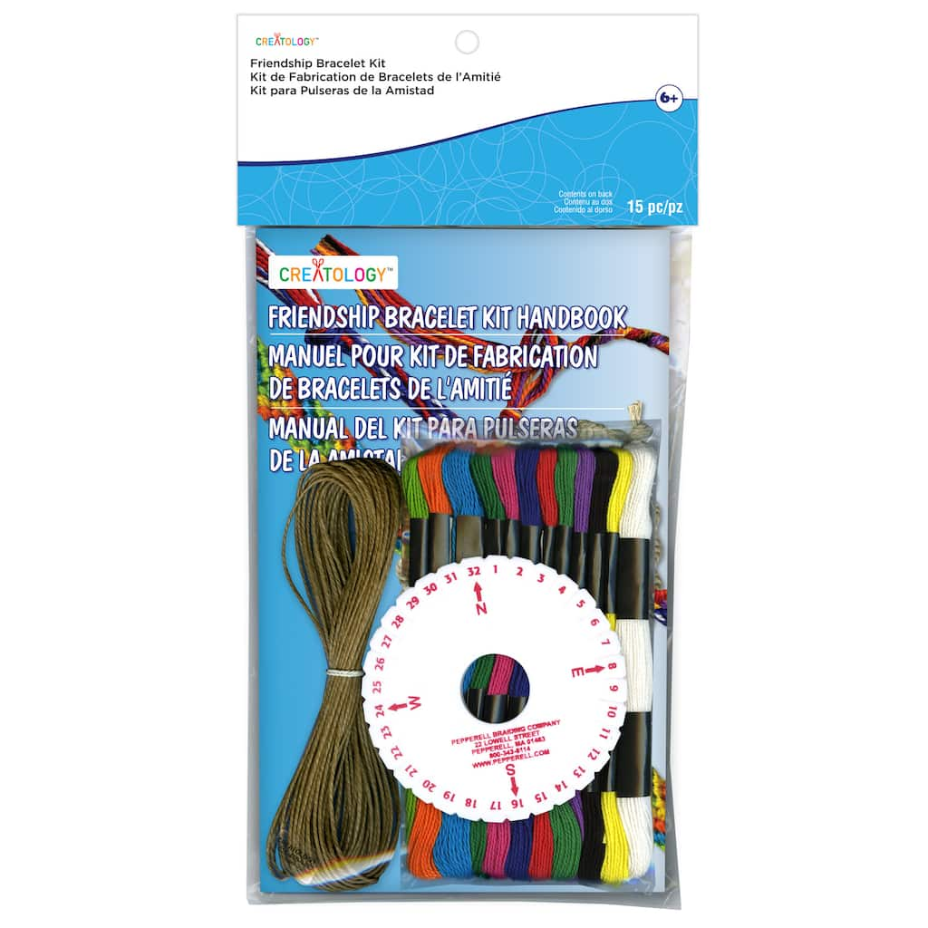 Buy the Friendship Bracelet Kit By Creatology™ at Michaels