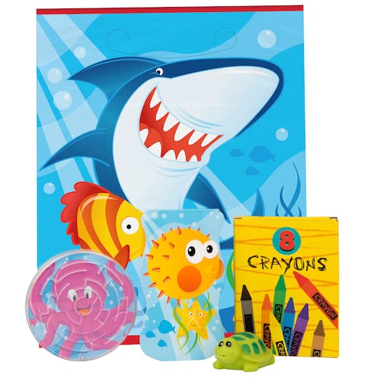 Fin Friends Birthday Party Favor Kit
