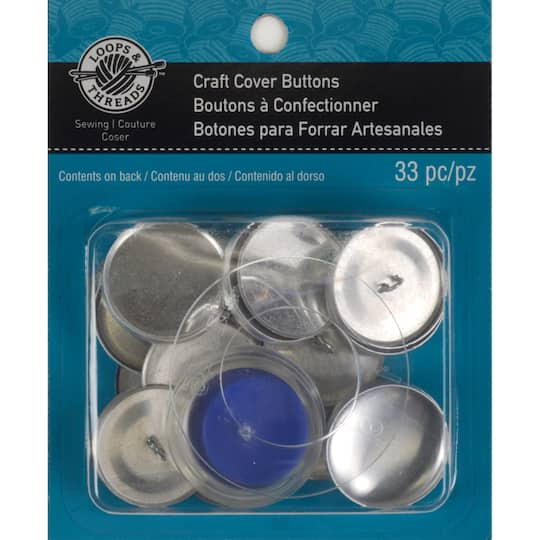 Craft Cover Button Kit by Loops & Threads®