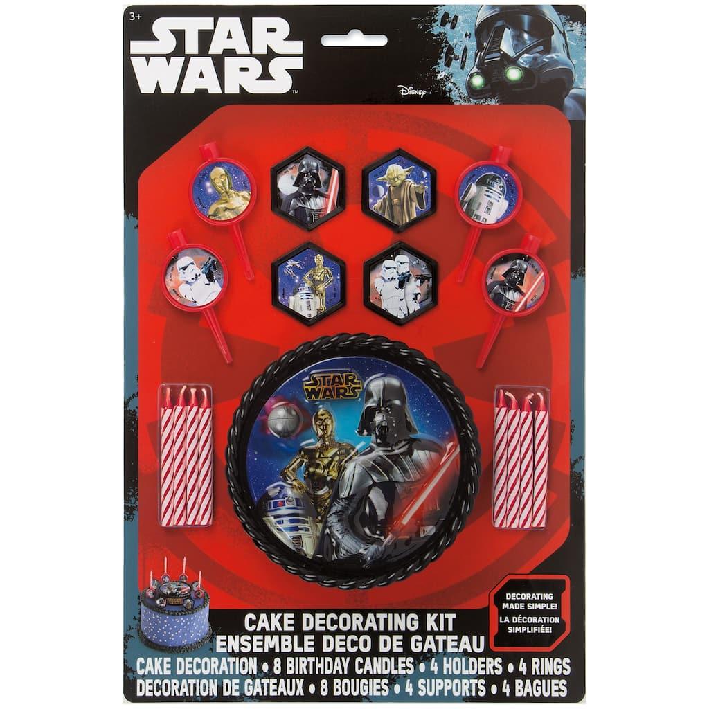Star Wars Birthday Cake Decoration Kit | Star Wars Party ...