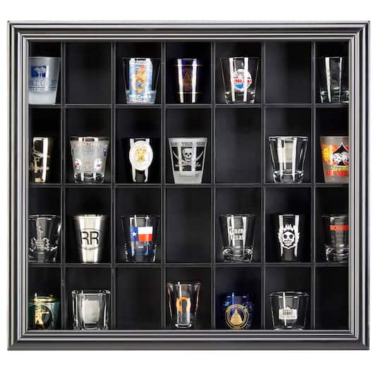 For The Shot Glass Display Case By
