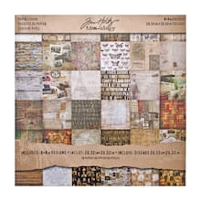 tim holtz idea ology mini paper stash collage