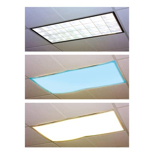 classroom light filters, tranquil blue