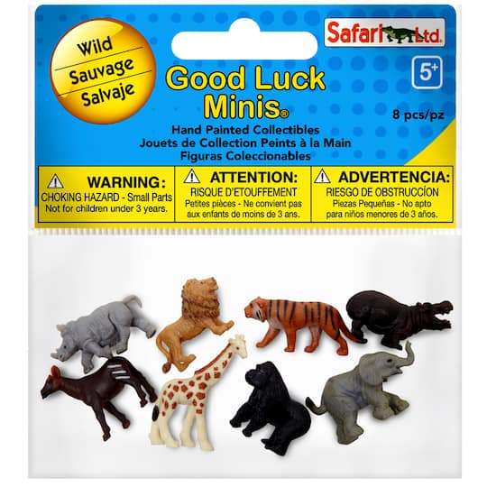 Safari Ltd® Good Luck Minis® Wild Fun Pack