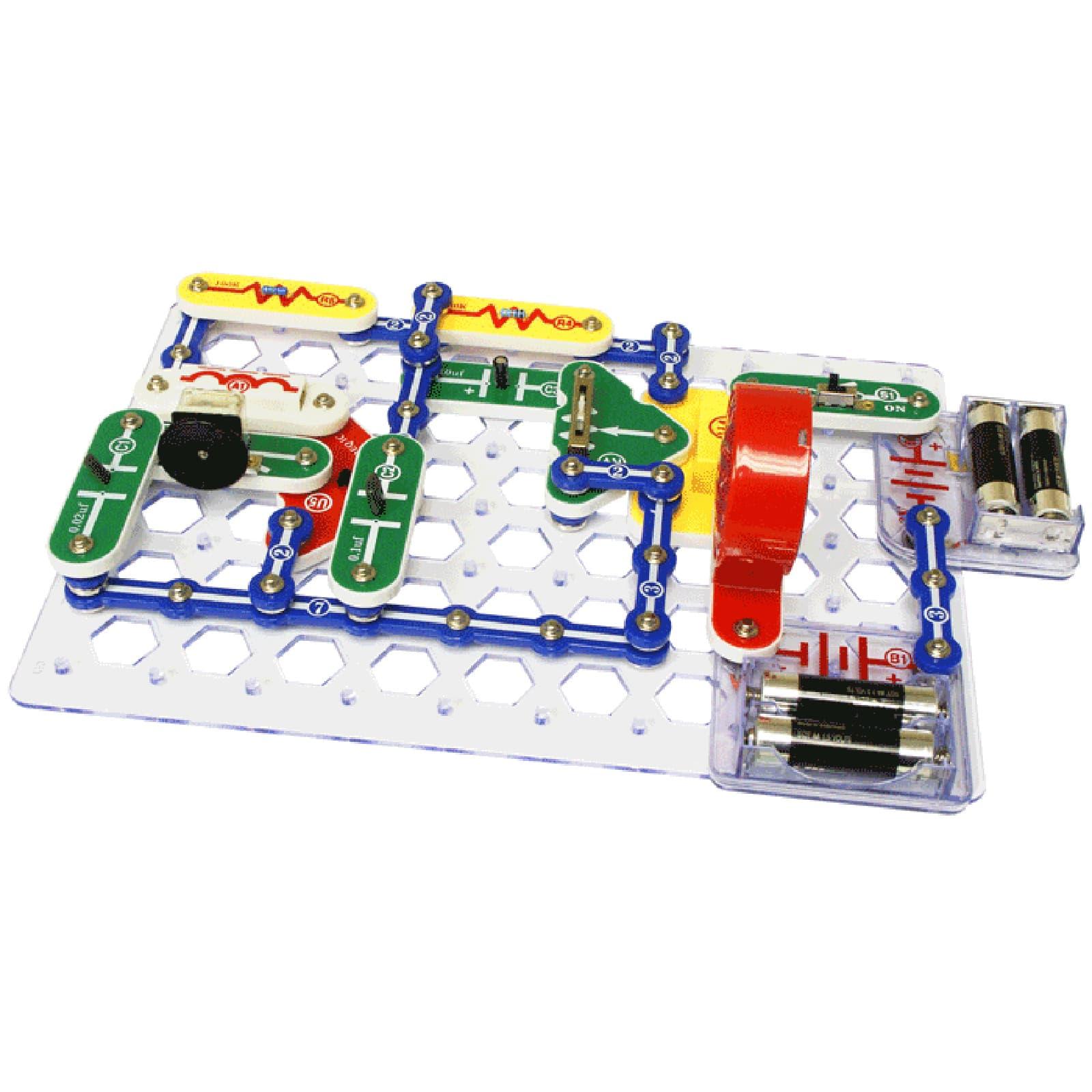 snap circuits 300 experiments rh michaels com Snap Circuit Series Snap Circuits Game