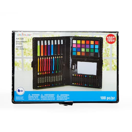Find The 100 Piece Kids Art Set By Creatology At Michaels