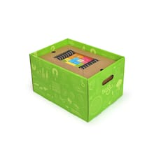 Tegu Magnetic Wooden Blocks Classroom Kit, 130 Pieces Box