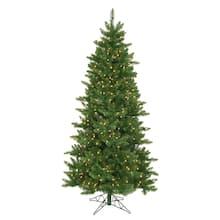 10 ft pre lit eastern pine slim artificial christmas tree clear lights - Michaels Christmas Trees Pre Lit
