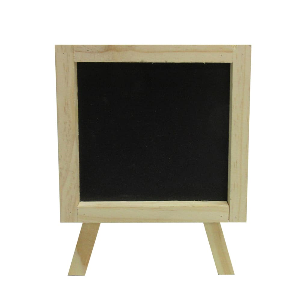 buy the chalkboard standing easel signs by artminds at michaels. Black Bedroom Furniture Sets. Home Design Ideas