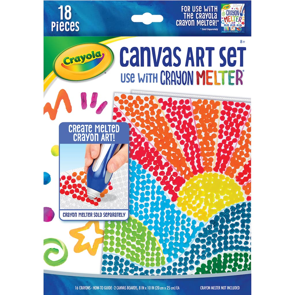 buy the crayola canvas art set at michaels