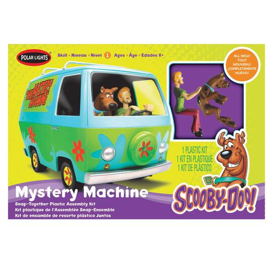 Polar Lights® Scooby-Doo!™ Mystery Machine on scooby doo ruh-roh, scooby doo the mystery car, scooby doo adventures,